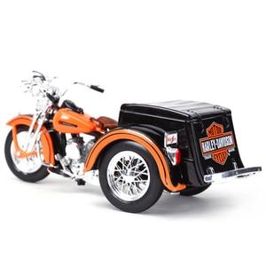 Image 2 - Maisto service voiture de moto en alliage moulé, jouet modèle de moto 1:18 1947