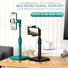 Desktop Phone Holder Tablet Stand For Phone Xiaomi Huawei Universal Bracket Metal Telescopic Adjustable Height Angle Live Suppor