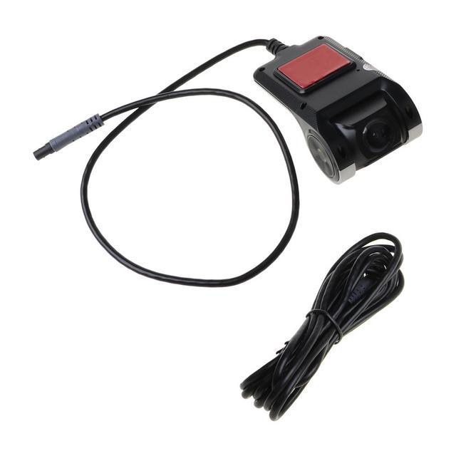 Full HD 720 P Cámara del DVR del coche de navegación automática Recorder Dash Cámara G Sensor ADAS Video