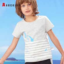 ABCkids Baby Girl Cotton Clothes Cute Cartoon O Neck Boys T Shirt Fashion Short Sleeve T-shirt Summer Kids Shirt Tees Tops love kids baby boys clothes cool summer superman short sleeve t shirt cotton tops clothes lxl