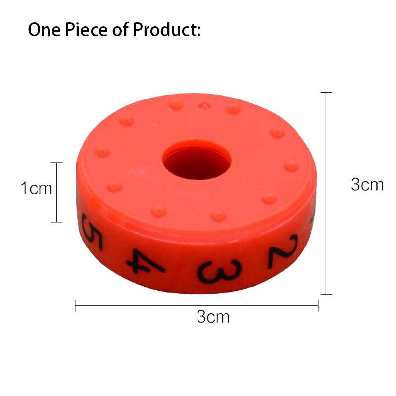 6 Pezzi Magnetico I Bambini in Età Prescolare Montessori Educativi Giocattoli di Plastica per I Bambini Matematica Numeri di Montaggio Fai da Te Puzzle Delle Ragazze Dei Ragazzi