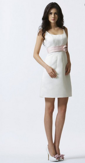 Free Shipping 2016 White Bodycon Dinner Dress Vestidos De Festa Formal Gowns Bride Dress Plus Size Short Bridesmaid Dresses