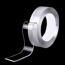 Sticker Nano Washable Disks-Glue Removable Adhesive Double-Sided-Tape Traceless Universal