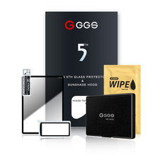 الجيل الخامس GGS لكاميرا فوجي XT1 XT2 XA3 شاشة لارمور فيلم حماية الشاشة إطار معدني جزءا لا يتجزأ من الزجاج البصري