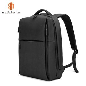 Image 5 - ARCTIC HUNTER New USB Laptop Mens Backpack Waterproof Leisure Bag Sport Travel Business Notebook Male Bag Schoolbag Pack