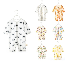 Suit Pajamas Clothing Short-Sleeve Girls Baby Infant Cotton for Boys No-Deformation-Clothes