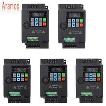 Aramox SKI780 Mini VFD değişken frekans dönüştürücü Motor hız kontrolü 220V/380V 0.75/1.5/2.2KW ayarlanabilir hız frekansı