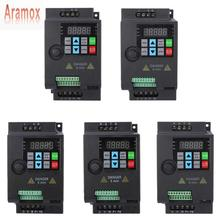 Aramox SKI780 מיני VFD ממיר עבור מנוע בקרת מהירות 220V/380V 0.75/1.5/2.2KW מתכוונן מהירות תדר