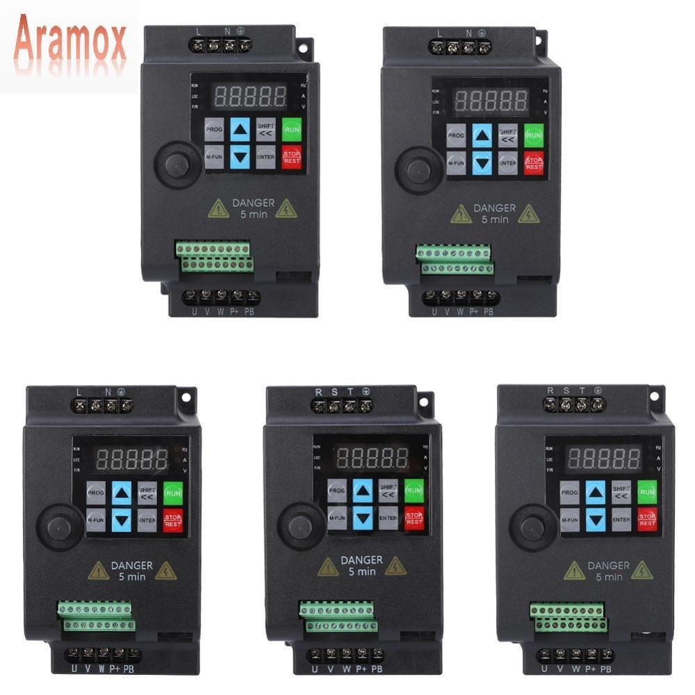 Частотный мини преобразователь Aramox SKI780 VFD, Регулируемая Частота вращения двигателя 220 В/380 В 0,75/1,5/2,2 кВт Инверторы и конвертеры      АлиЭкспресс