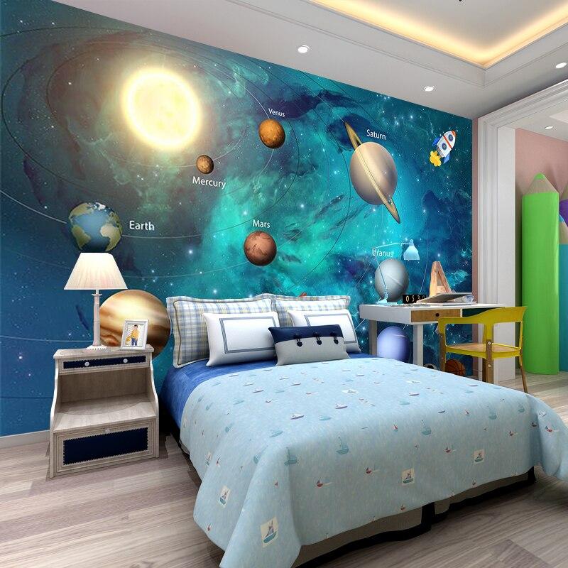 3D-Wallpaper-Space-Universe-Children-Room-Starry-Sky-Planet-Wallpaper-3D-Stereo-Cartoon-Mural-Papel-De (1)