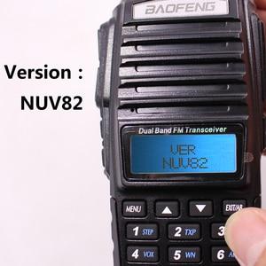 Image 4 - 2020 Bộ Đàm Baofeng UV 82 Plus 8 W 10KM Tầm Xa Mạnh Mẽ Bộ Đàm Di Động CB Vhf/Uhf Ptt 2 cách Đài Phát Thanh Amador 8 W UV82