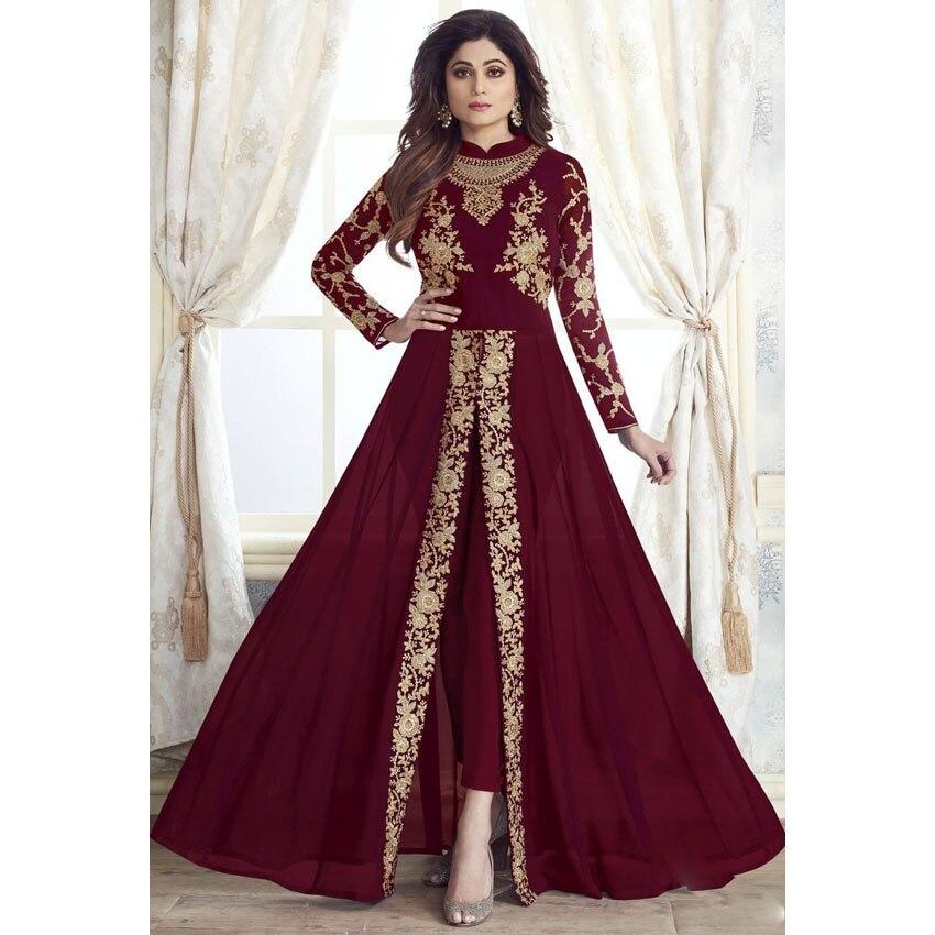Muslim Fashion Dress Pants Sets 2pcs Women Abaya Dubai Turkey Indian Islamic Kaftan Clothing Retro Printed