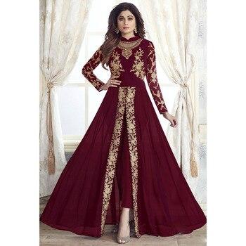 Muslim Fashion Dress Pants Sets 2pcs Women Abaya Dubai Turkey Indian Islamic Kaftan Clothing Retro