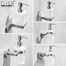 Dispensador de sabonete líquido, suporte de aço inoxidável 304 escova para parede para sabonete líquido, suporte ml9313