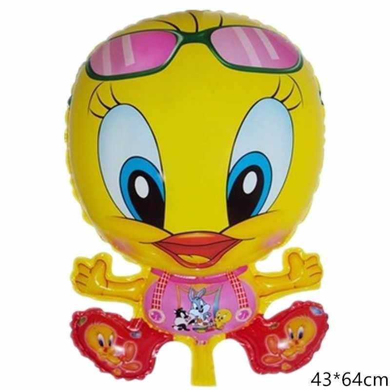 1 шт. зеленый утка ручной Strikerfoil воздушный шар День рождения мультяшный набор для вечеринки фигурка Русалка Вечерние заправка ручной светильник