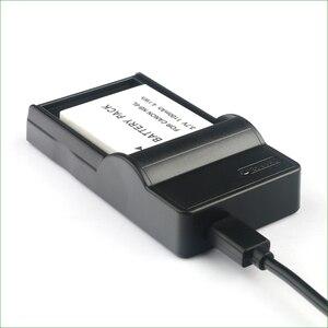 Image 5 - LANFULANG NB 6L / NB 6LH ملحوظة 6L ضئيلة المصغّر USB شاحن بطارية ل كانون PowerShot SX520 SX530 SX540 SX600 SX610 SX700 SX710 HS