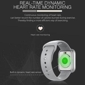 Image 2 - 2020 ساعة ذكية الرجال النساء معدل ضربات القلب 15 أيام الاستعداد مقاوم للماء Smartwatch آيفون أندرويد PK Iwo13 12 9 8 الساعات الذكية