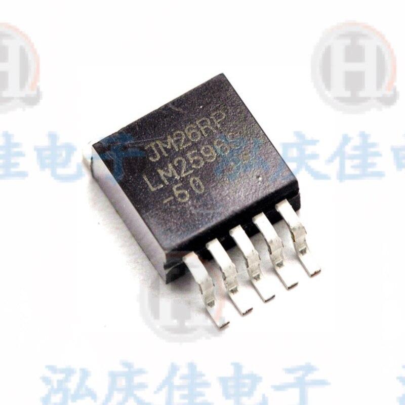10 pièces/lot LM2596S-5.0 LM2596S LM2596 REG BUCK 5V 3A TO-263 Tube de régulateur de tension en gros