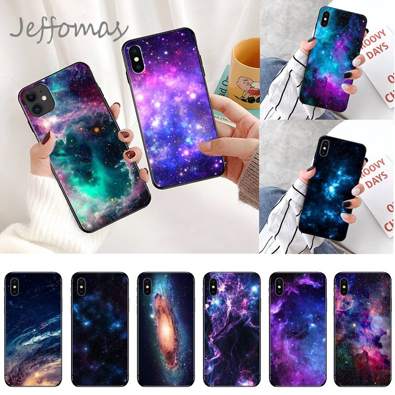 Fantasy space for galaxy Phone Case for iPhone 11 12 pro XS MAX 8 7 6 6S Plus X 5S SE 2020 XR