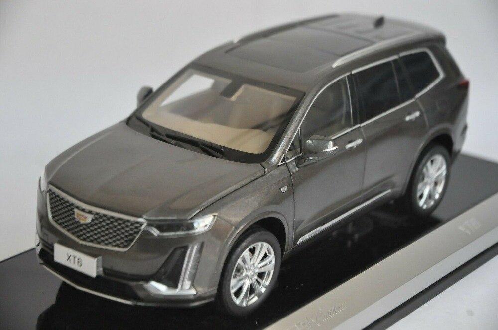 1//18 US GM Cadillac XT6 SUV  Diecast Model Car SUV Boys Girls Gifts Gray