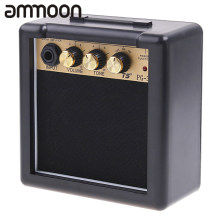 Hot Sale PG-3 3W Electric Guitar Amp Amplifier Speaker Volume Tone Control High Quality Electric Guitar Amplifier(China)