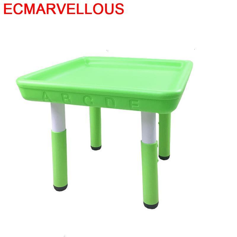 Scrivania Mesa Y Silla Infantil And Chair Tavolino Bambini Plastic Game Kindergarten Enfant Study For Kids Kinder Children Table