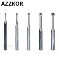 Thread Tooth Milling Cutter Alloy Coating Tungsten Steel Internal Cnc 60 Degree Hrc65 Top Milling Machining Center AZZKOR Tools