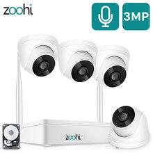 Zoohi домашняя беспроводная система видеонаблюдения 1080p 2mp