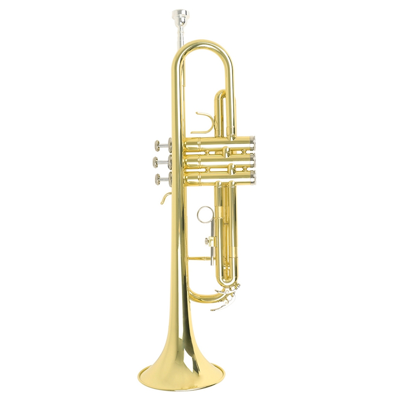 Top Quality Trumpet Bb B Flat Durable Brass Trumpet with a Mouthpiece