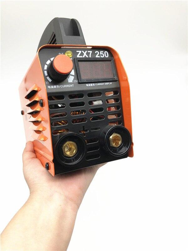 Eu delivery del 250A 110-250V 250A 110-250V Compact Mini MMA Welder Inverter ARC Welding Machine Stick Welder 220v