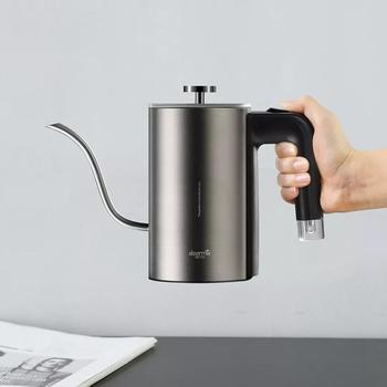 Xiaomi Mijia Deerma Electric Coffee Hand Pot DEM-SC001 8mm Gooseneck Spout Strix Temperature Control System Elegant TeaHand Pot 5