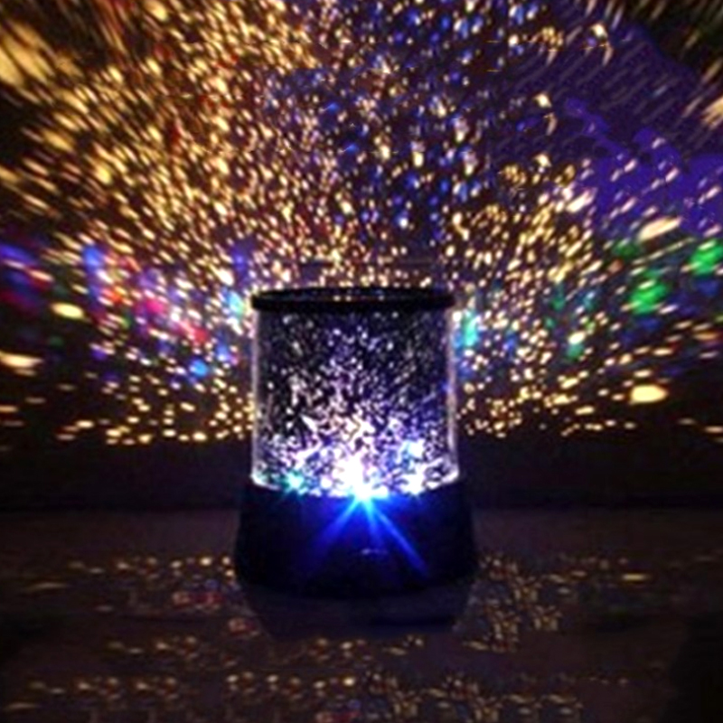 Planetarium Light With LED Button Switch For Kids Bedroom Stars Decoration 5