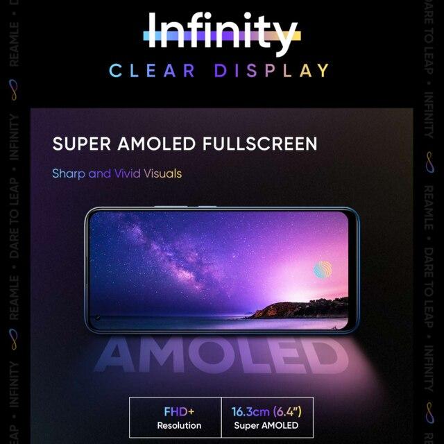realme 8 Pro 6GB 128GB Global Version 108MP Camera 50W SuperDart Charge AMOLED Snapdragon 720G 6