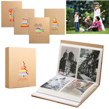 5inch 200pcs 3R Cute Cartoon Photo Albums Picture Storage Album Case Memory Book Baby Kids Family Memo Gift(China)