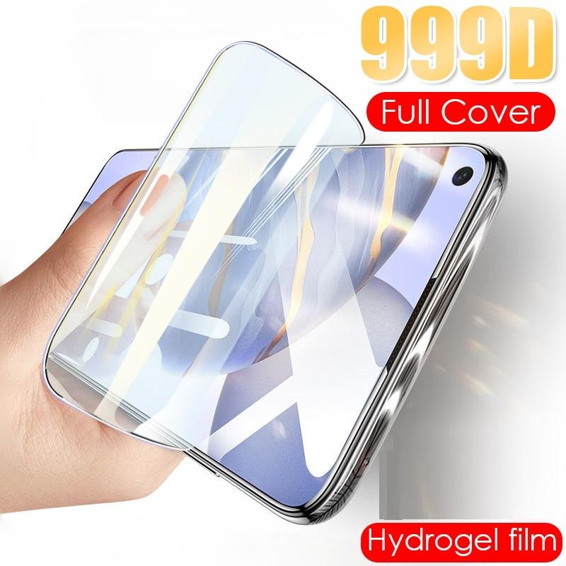 Filme de hidrogel para honra 8x 7x 6x 5x 4x 3x max filme protetor de tela de proteção para huawei honor 6c pro 4c 5c