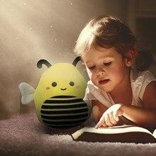 3D Kwaii Cartoon Honeybee Plush Toy Stuffed Baby Dolls Lovely Toys for Children Appease Birthday Gift Kids Birthday Gift