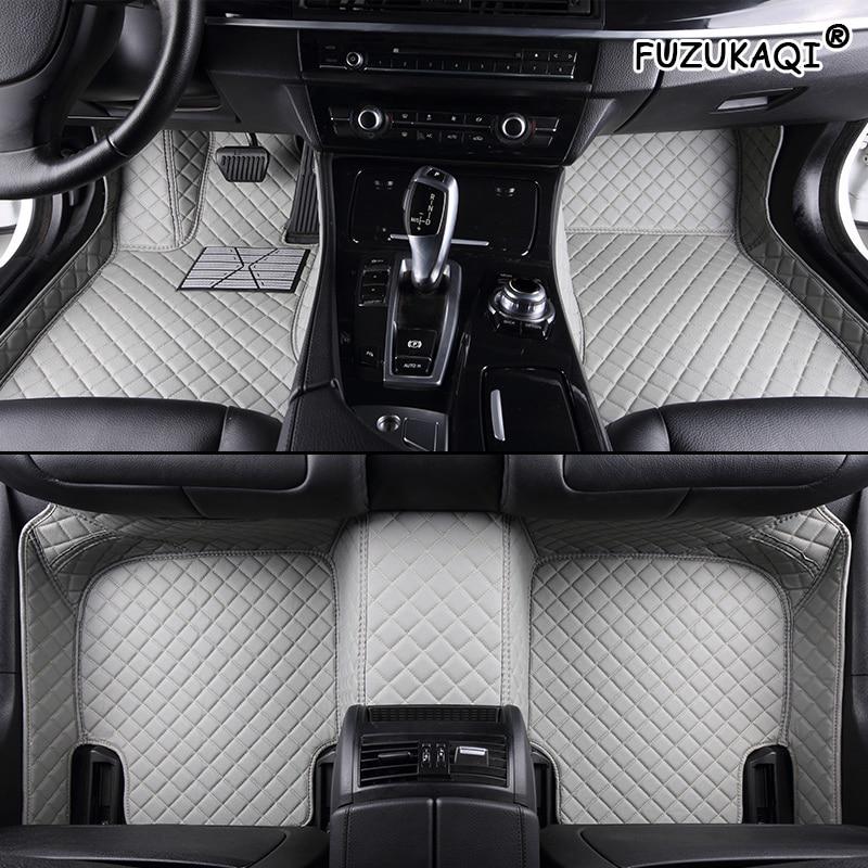 FUZHKAQI Custom car floor mat For Citroen DS DS3 DS4 DS5 DS6 DS7 DS4S DS5LS For Dodge Journey caliber foot mats car styling|Floor Mats| |  - title=