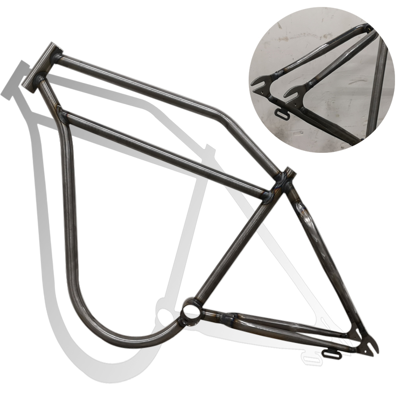 Snow Bicycle Frame Steel Frame Fuel Bicycle Frame 26*4.0WHEEL SET Frame Bicycle Accessories