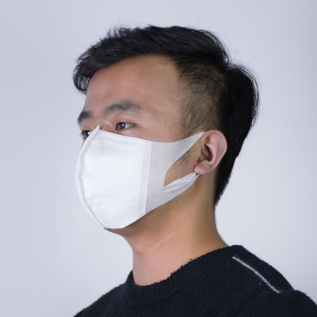 In Stock 50pcs Disposable Masks For Adult PM2.5 Filter Face Mask Mouth Cover Anti Dust Respirator Flu Protect Fast Shipping