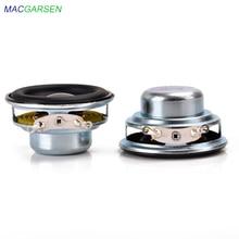 2pcs 40mm Full Range Speaker 1.5inch 3W 5W 4 8 ohm HiFi Rubber Side Speakers DIY Portable Bluetooth Speaker Mini Music Speakers