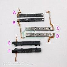 Cursore originale L R LR slider sinistro destro sostituzione ferrovia per Nintendo switch Console Rail per Controller Joy con NS