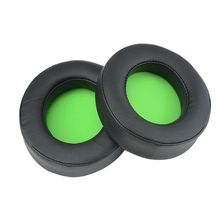 1Pair Replacement Earpads Ear Cushion Cups Cover Repair Parts for Razer Kraken PRO 7.1 V2 Gaming Headphones Headset X6HB