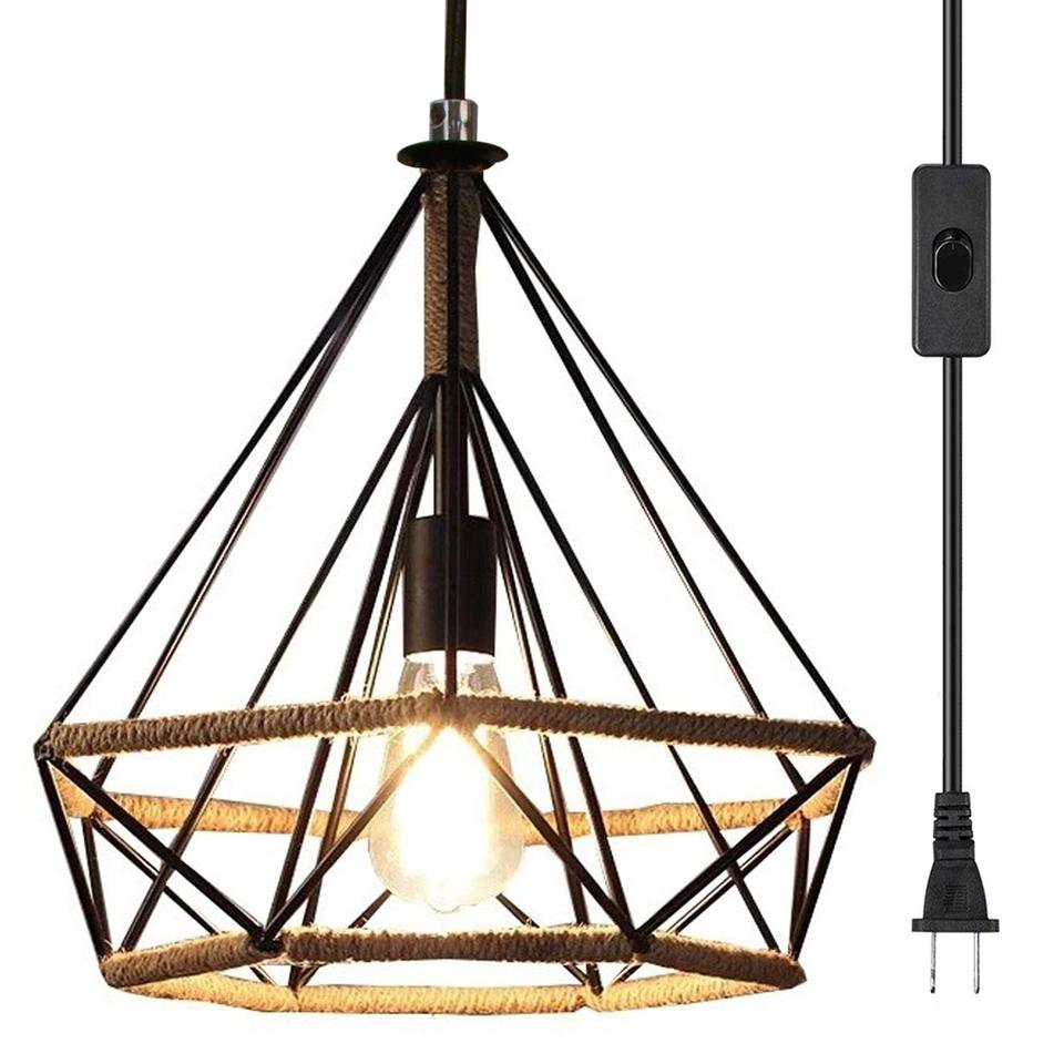 Modern Industrial Pendant Light Vintage Metal Hanging Lightings Farmhouse  Chandelier Ceiling Lamp for Kitchen Foyer Fixtures|Pendant Lights| -  AliExpress