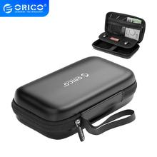 ORICO HDD Case Box Power Bank Case for 2.5 Hard Drive Disk USB Cable External Storage Carrying SSD HDD Case Storage box
