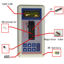 New Professional Integrated Circuit IC Tester Transistor Tester Online Maintenance Digital Led Transistor IC Chips Tester