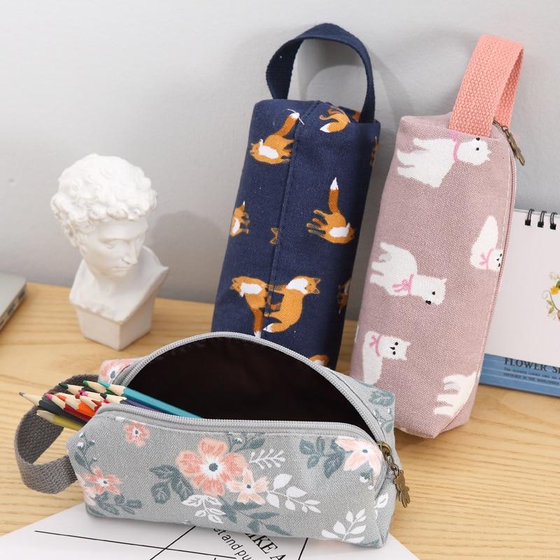 Pencil Case School Supplies Kotak Pensil Estuche Para Lpices Material Escolar Trousse Scolaire Stylo Cartuchera Para Lapices