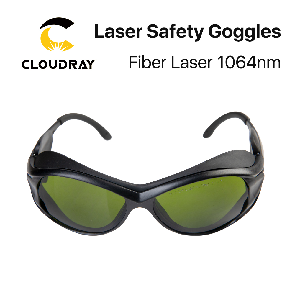 Cloudray 1064nm Laser Safety Goggles 850-1300nm OD4+ CE Protective Goggles For Fiber Laser Style A