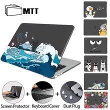 Mtt caso do portátil para macbook air pro 13 m1 a2337 a2338 2020 cristal capa dura para mac livro 11 12 13.3 15 16 polegada funda