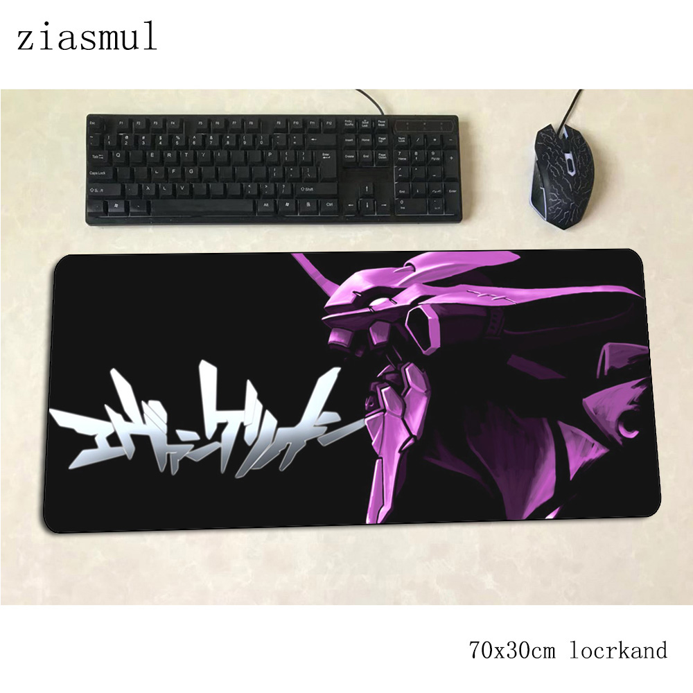 Evangelion Mouse Pad Beautiful Computer Mat 700x300x3mm Gaming Mousepad Large Domineering Padmouse Keyboard Games Pc Gamer Desk