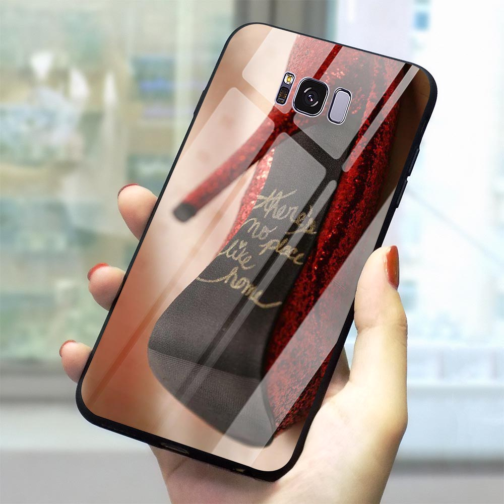 Colorful Wizard OZ Fairy Tale Glass Phone Case for Samsung Galaxy S10 Cover A70 A60 M40 A50 A40 A20 A30 A10 S7 Edge S8 S9 Plus image